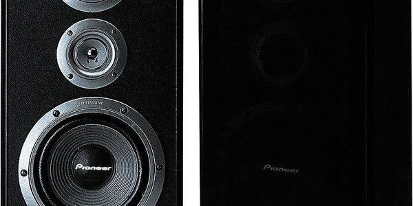 Podlahové reproduktory s kvalitní reprodukcí zvuku Pioneer CS-5070