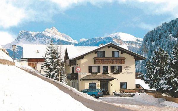 Itálie, oblast Val Gardena, polopenze, ubytování v 3* hotelu na 8 dní
