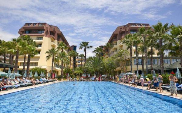 Turecko, oblast Alanya, letecky, all Inclusive, ubytování v 5* hotelu na 8 dní