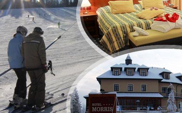 Luxus v Mariánských Lázních pro DVA na 5 dní s lyžováním a wellness