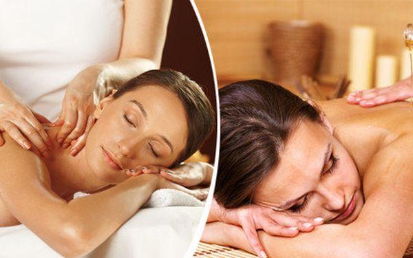 Aromaterapeutická regenerační nebo relaxační masáž - 60 nebo 120 minut.