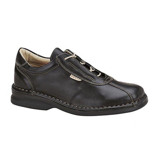 Dámské černé prošívané boty Buggy