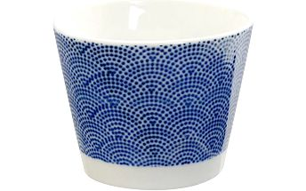 Porcelánový šálek Dot Nippon Blue