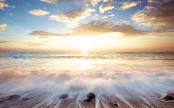 Skleněný obraz Golden Sunrise 60x80 cm