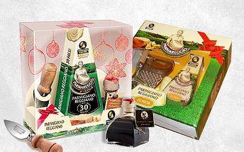 Vyberte si svou sadu s výborným sýrem parmezánem a příslušenstvím