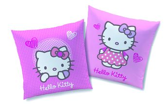 Polštářek Hello Kitty Kite 40x40 cm