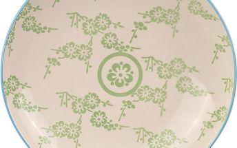 Porcelánový talíř Animal Colored Blue/Green, 25.7 cm