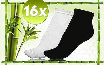 Pohodlné bambusové ponožky pro pány i pro dámy