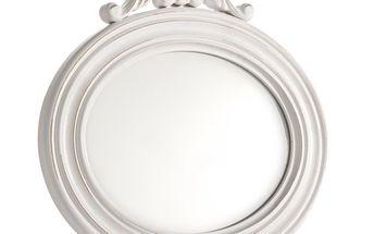 Nástěnné zrcadlo Scarlett Bianco, 30x29,5 cm
