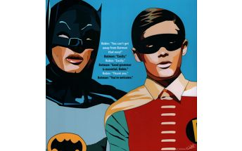 Obraz Batman and Robin