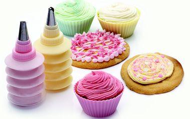 Sada cukrářských zdobítek Sweetly Does It Cupcake