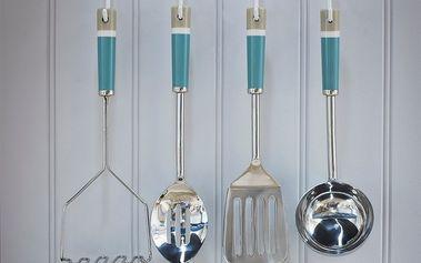 Set kuchyňských nástrojů Garden s držákem, 4 ks