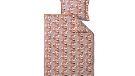 Dětské povlečení Beaded Fox Rose, 70x100 cm