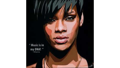 Obraz Rihanna - Music in my DNA