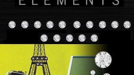 Samolepka se Swarovski Elements Crystals