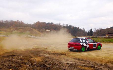 Autocross na profesionální závodnické trati
