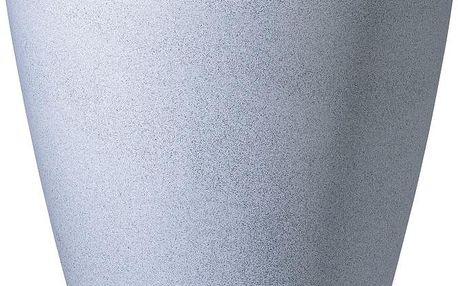 Venkovní květináč Granit 67x50 cm, bílý - doprava zdarma!