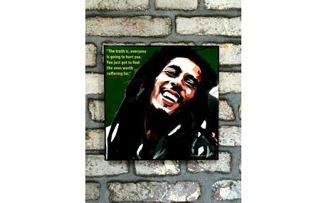 Obraz Bob Marley - The Truth is, everyone is going to hurt you