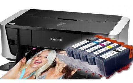 Sada kompatibilních cartridgí Canon PGI 525 a Cano