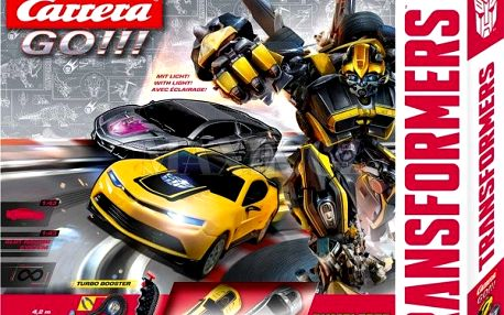 Carrera GO! Autodráha Transformers Bumblebee Chase
