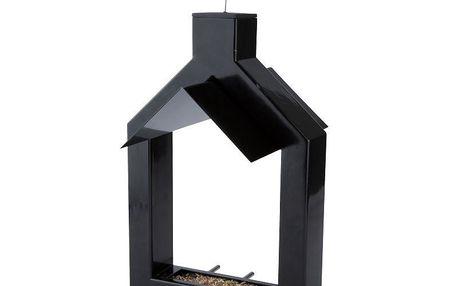 Ptačí krmítko Alicante 31 cm, černé