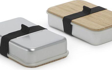 Sandwich Box, stříbrný