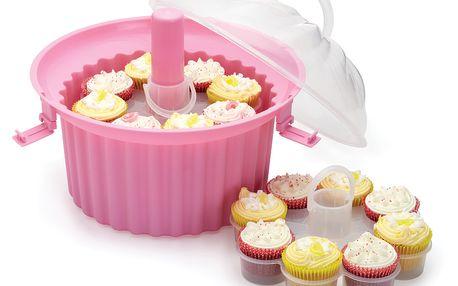Třípatrová přenosná mísa na cupcaky Sweetly Does It
