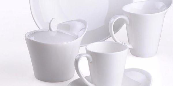 Porcelánová kávová sada, 20dílná - doprava zdarma!