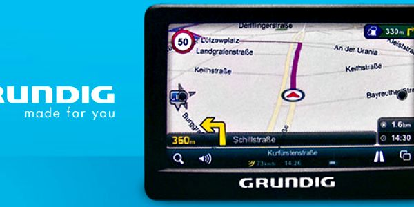Navigace GPS Grundig v českém jazyce: najděte si vždy svou cestu!