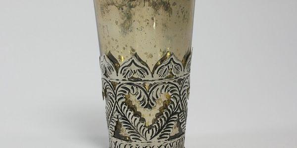 Svícen s patinou Cozy, 13 cm