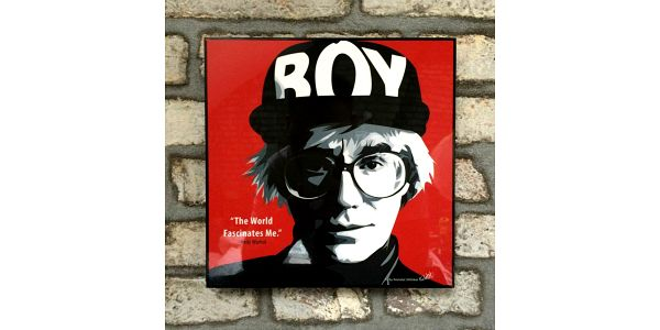 Obraz Andy Warhol - Boy