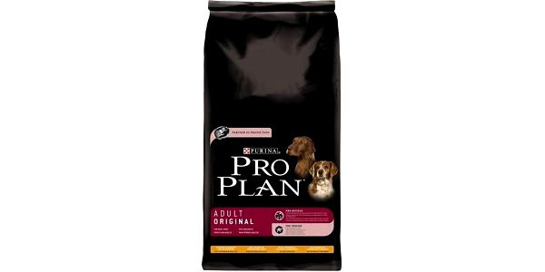 Kompletní krmivo pro dospělé psy Purina Pro Plan Dog Adult Original Ch+R 14 kg
