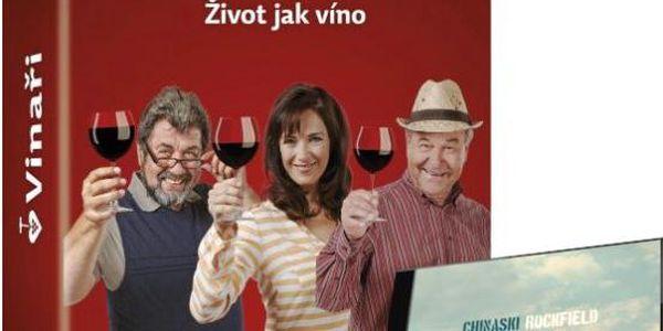 Prima DVD - kompletní TV seriál Vinaři + CD Chinaski