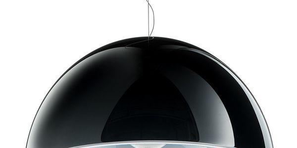Závěsné světlo L002S/BA, černá