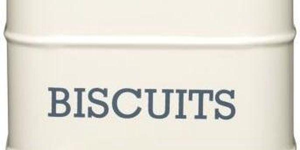 Plechová dóza Biscuits, krémová