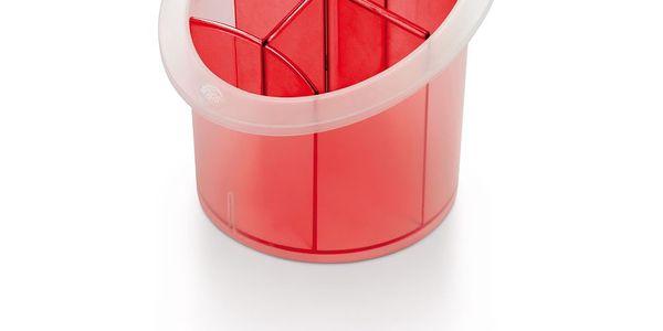 Stojan na příbory Red Cutlery