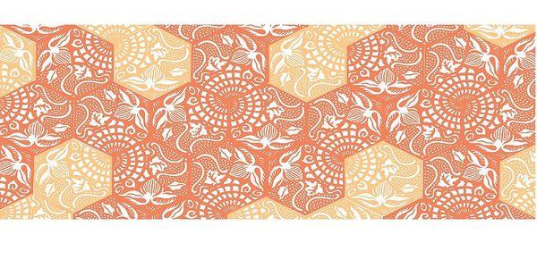 Vinylový koberec Cocina Paseo Naranja, 50x120 cm