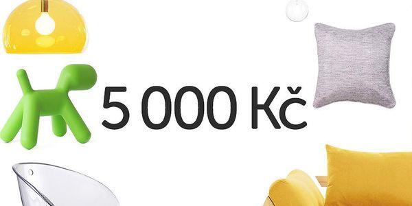Elektronický dárkový poukaz na 5000 Kč
