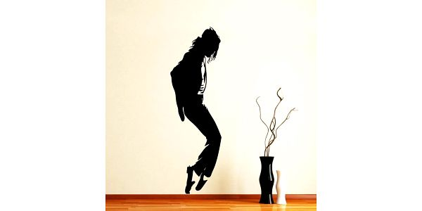 Samolepka Michael Jackson Moonwalk
