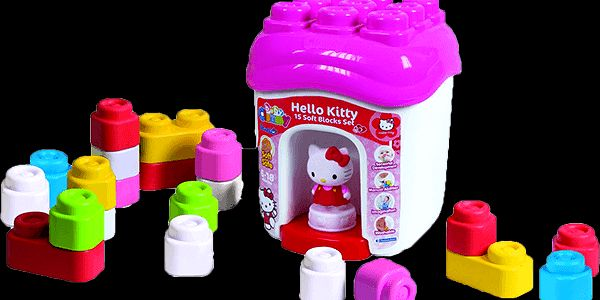 Kostky Clementoni Clemmy baby Hello Kitty
