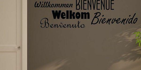Samolepka Welcome
