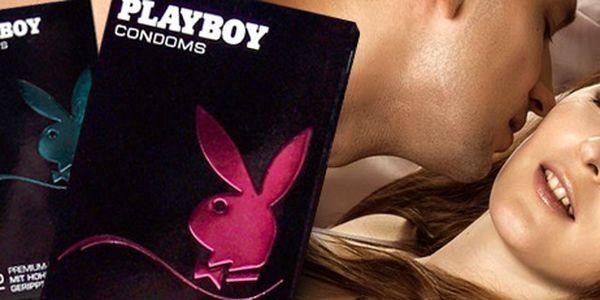 36 ks luxusních kondomů Playboy: pro bezpečnou rozkoš při milování!