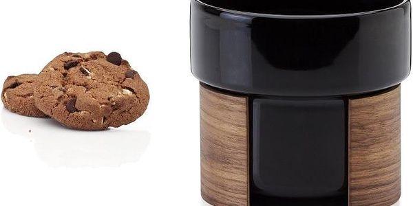 Hrnek Latte Black Wallnut, 40 cl