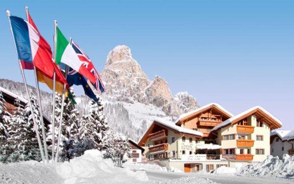 Itálie, oblast Alta Badia, snídaně, ubytování v 3* hotelu na 8 dní