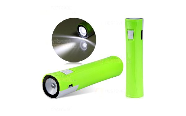 Přenosná USB baterie se světlem - tři barvy a poštovné ZDARMA! - 9999916961