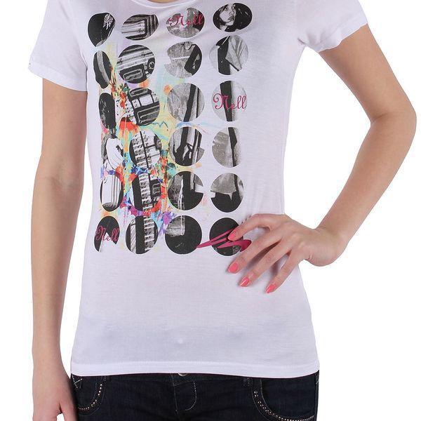 Dámské tričko Nell s krátkým rukávem
