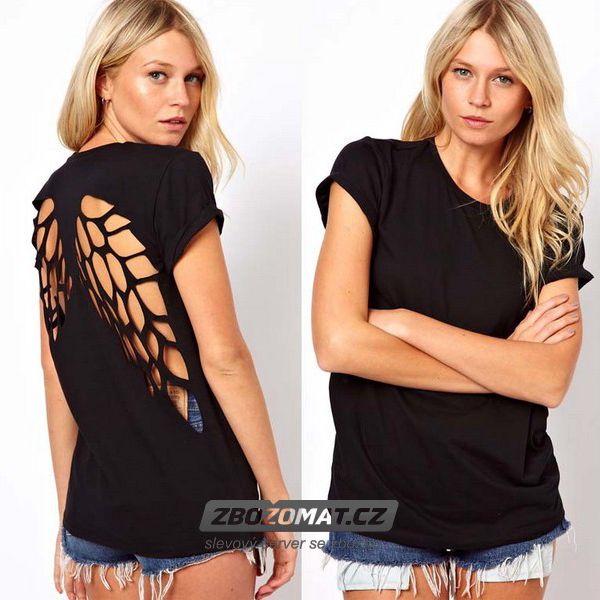 Originální tričko s andělskými křídly!