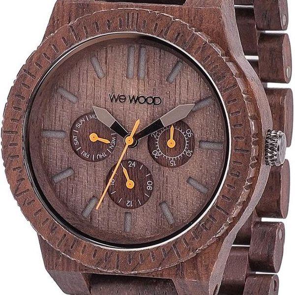Dřevěné hodinky Kappa Chocolate - doprava zdarma!