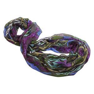 Pestrobarevná dámská šála