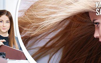 Moderní střih, barvení, melír či přeliv v salonu Ráj